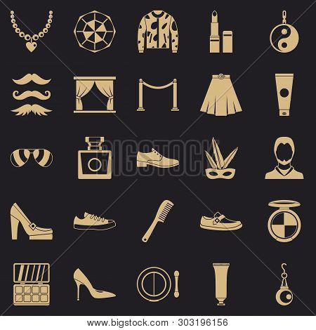 Craze Icons Set. Simple Set Of 25 Craze Vector Icons For Web For Any Design