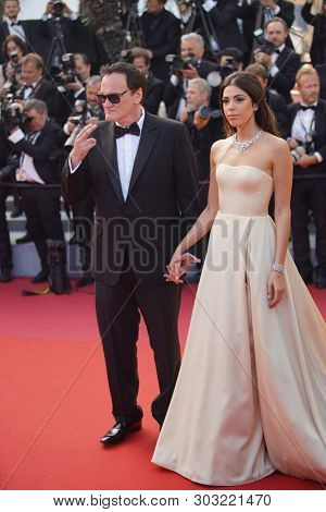 Quentin Tarantino and Daniella Tarantino  attend the closing ceremony screening of