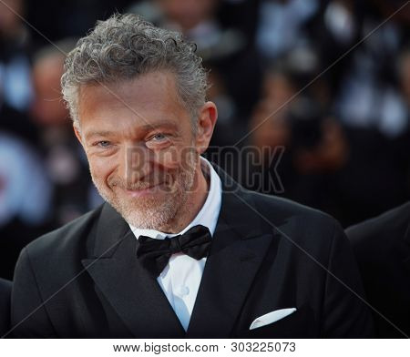 Vincent Cassel attends the closing ceremony screening of