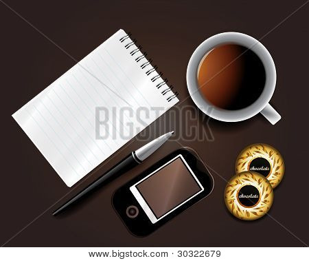 Set Of Business Backgrounds