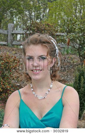 Pretty Female Teenager