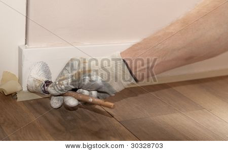 Painting A Ledge