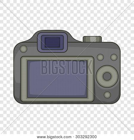Photocamera Icon. Cartoon Illustration Of Photocamera Vector Icon For Web