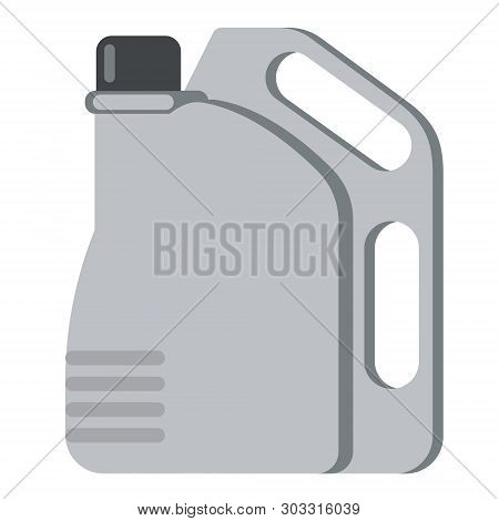 Jerrycan Flat Illustration. Everyday Life And City Objects Series.