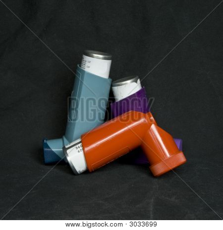 Inhalers for use with asthma or lung