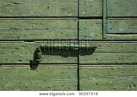 Old Door Detail