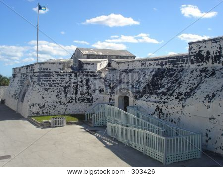 Fort In The Bahamas
