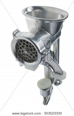 Meat Grinder Isolated - On White Background