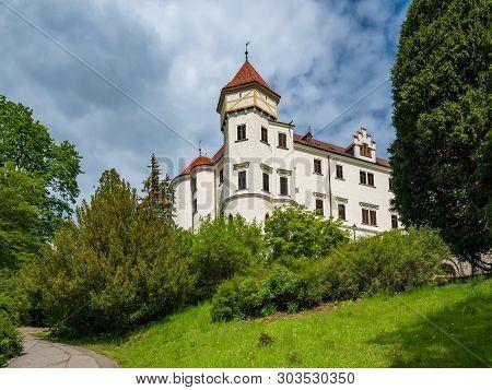 Konopiste Castle Near Prague, Benesov, Czech Republic