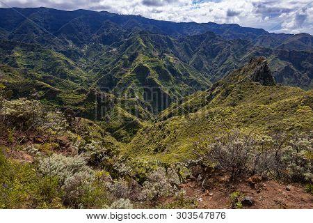 Rural Park Anaga, Tenerife, Canary Islands, Trekking