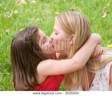 Big Kiss For Mom