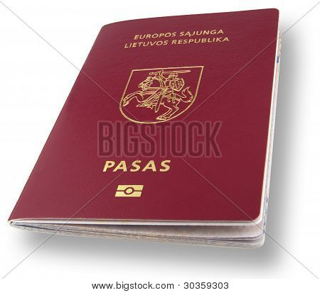 New Lithuanian Passport With Cp