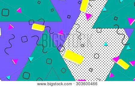 90s Pattern  Memphis Vector & Photo (Free Trial) | Bigstock