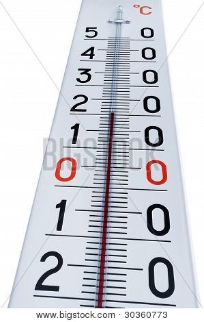 Thermometer Isolated On White