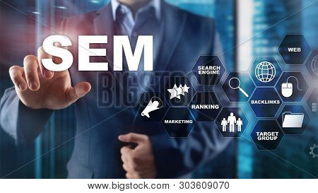 Sem Search Engine Optimization Marketing Ranking Traffic Website Internet Business Technology Commun