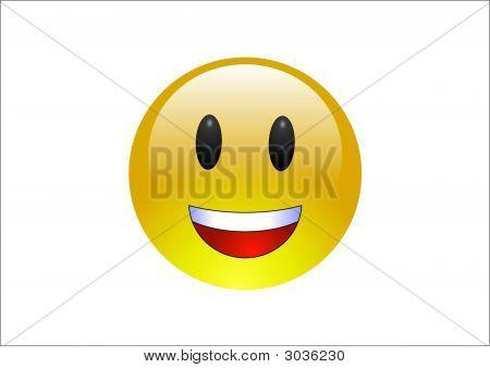 Aqua Emoticon Laughing 1
