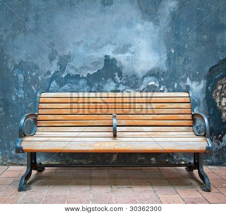 Wooden Chairs And Walls
