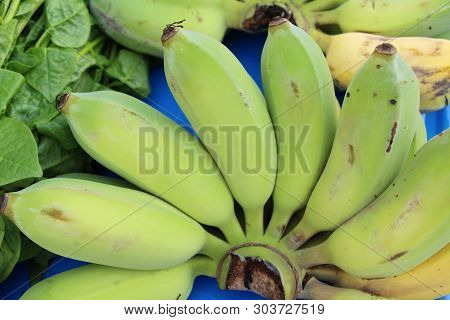 Ripe Banana Is Delicious At Street Food