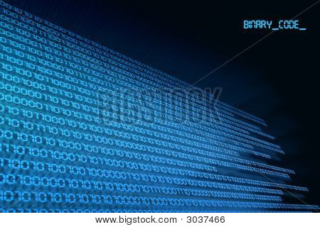 Binary Code Zero & One