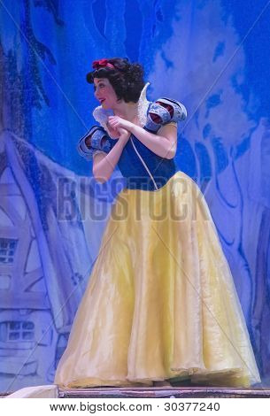 Snow White At The Disney Princess Show