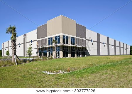 New Large Commercial Building With Office And Warehouse Space Available For Sale Or Lease