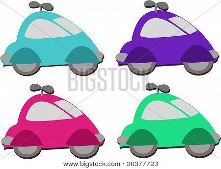 Mix of Car Windup Toys