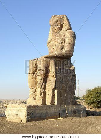 Colossi Of Memnon In Egypt