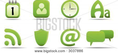Web Icon Set 6 | Grass Series