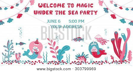 Party Invitation Card Vector Photo Free Trial Bigstock