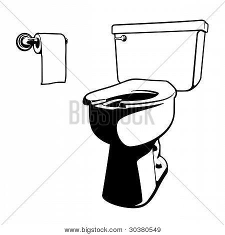 Vector Toilet