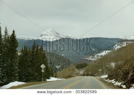 Winter In May In Durango, Co And The Surrounding Areas Of It