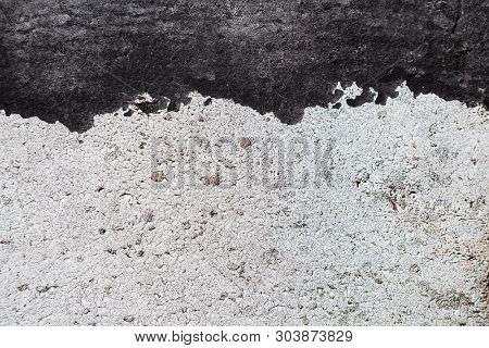 Grunge black white texture wall