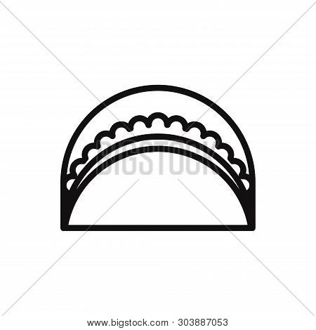 Fastfood Icon Isolated On White Background. Fastfood Icon In Trendy Design Style For Web Site And Mo
