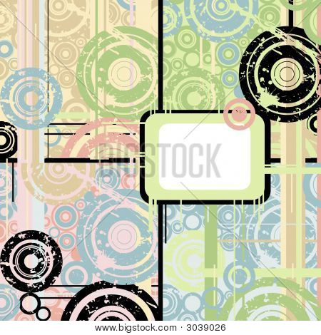grunge pastel background with space for your text poster