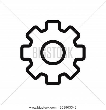 Configuration Icon Isolated On White Background. Configuration Icon In Trendy Design Style For Web S