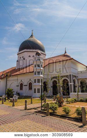 The Kapitan Keling Mosque In George Town Malaysia