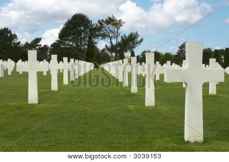 D-Day Graves