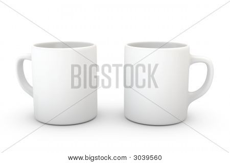 Mug On White
