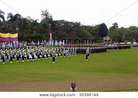Ceremonia Militar o Policial. Military or Police Ceremony