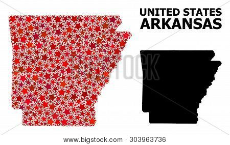 Red Star Mosaic Solid Vector Photo Free Trial Bigstock