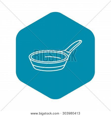 Modern Griddle Icon. Outline Modern Griddle Vector Icon For Web Design Isolated On White Background