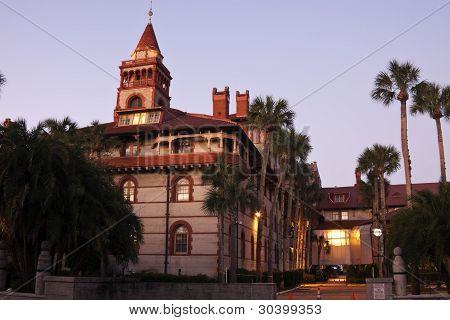 St. Augustine Historic Architecture - Flagler College