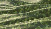 Military war background camouflage khaki pattern. 3D render. poster