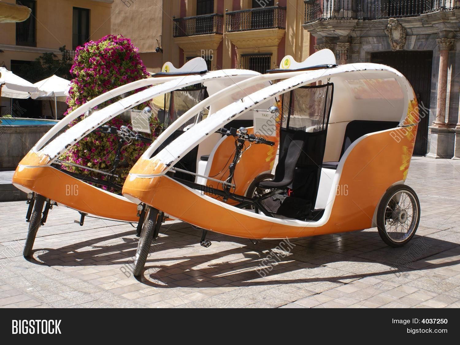 taxis spanish taxi vehicle taxis image photo bigstock