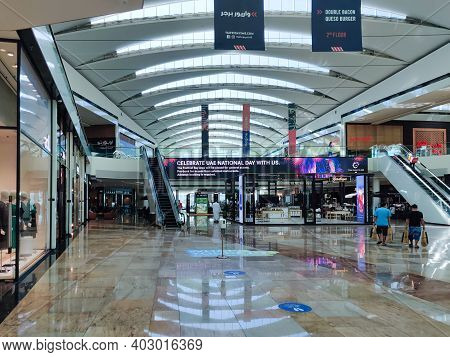 Shopping Mall Modern Interior Design | Dubai Festival City Mall, An Iconic Shopping Mall In The Unit