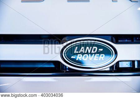 Rostov-on-don, Russia - Circa October 2019: Land Rover Logo