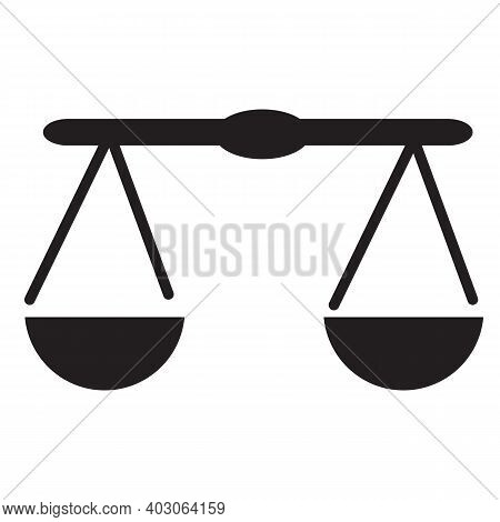 Scale Icon. Justice Scale Icon. Law Office Logo. Justice Scale Icon . Scale Template. Justice Scale