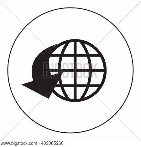 World Globe. Globe Icon. Globe Logo. Globe Symbol. Globe Web Icon