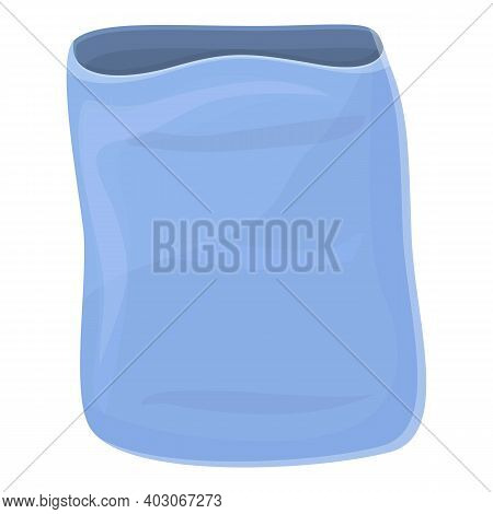 Biodegradable Plastic Sack Icon. Cartoon Of Biodegradable Plastic Sack Vector Icon For Web Design Is
