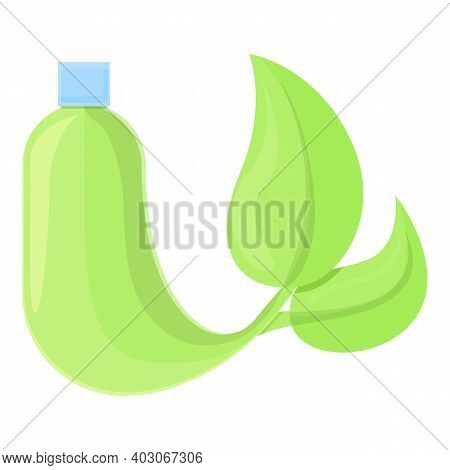 Biodegradable Plastic Modern Bottle Icon. Cartoon Of Biodegradable Plastic Modern Bottle Vector Icon